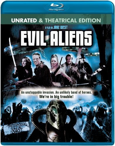 Blu-ray : Evil Aliens (Widescreen, Unrated Version, Dolby, AC-3, Rated Version)