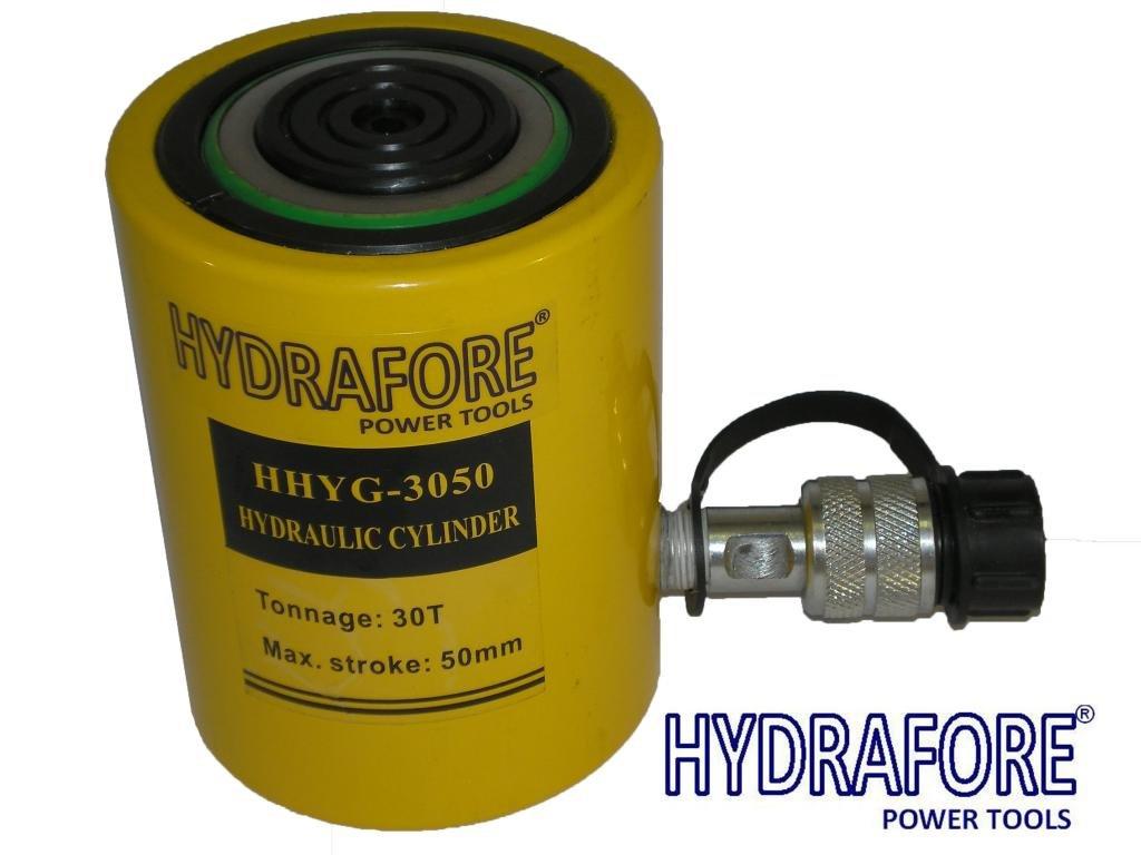 HYDRAFORE Einzelwirkender Hydraulikzylinder (30 Ton 50 mm)