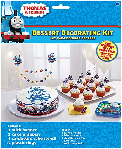 (amscan Thomas The Train All Aboard Cake Decorating)