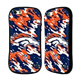 Official NFL Camou Denver Broncos Logo Hybrid Case for Apple iPhone 5 / 5s / SE