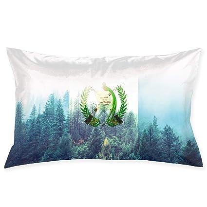 MedieMo Bandera de Guatemala con Fundas de Almohada ...