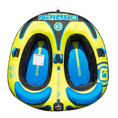 51bc0227d96 Image Unavailable. Image not available for. Color  O Brien Wake Warrior 2  Towable Tube
