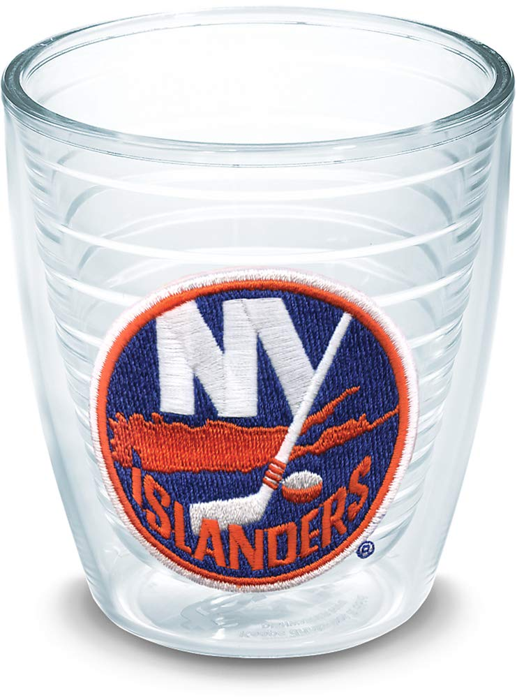 Clear Tervis 1044822 NHL New York Islanders Primary Logo Tumbler with Emblem 12oz
