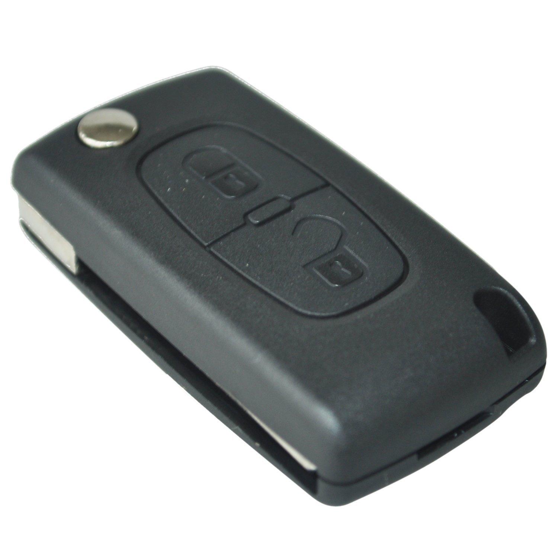 TOOGOO Boton Carcasa del mando Llave Key