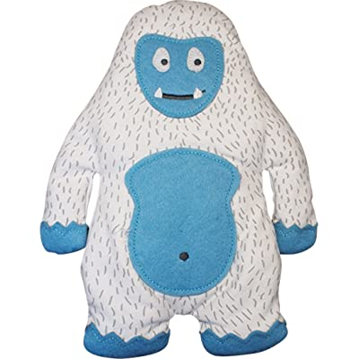 Gamago SF1705 Yeti Heatable Huggable Pillow, One Size, Blue/White: Kitchen & Dining