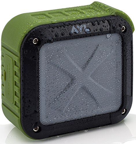 Portable Outdoor and Shower Bluetooth 5.0 Speaker by AYL SoundFit, Water Resistant, Wireless with 10...