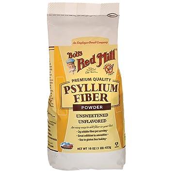 Amazoncom Bobs Red Mill Fiber Powder Psyllium 16 Oz Grocery