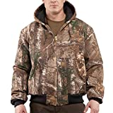 Carhartt Men's Quilted Flannel Lined Camo Active Jacket,Realtree Xtra,X-Large
