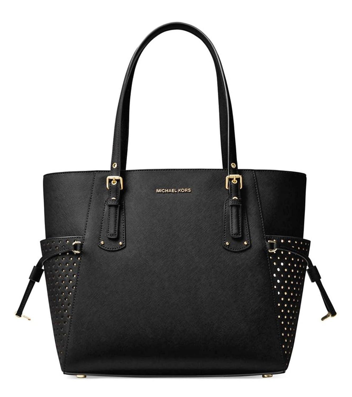 0b7a11c7dd9a43 ... Large Convertible Shoulder Bag Leather Black 328 eBay Michael Kors Essex  Satchel Amazon.com MICHAEL Michael Kors Voyager East West Signature Tote ...