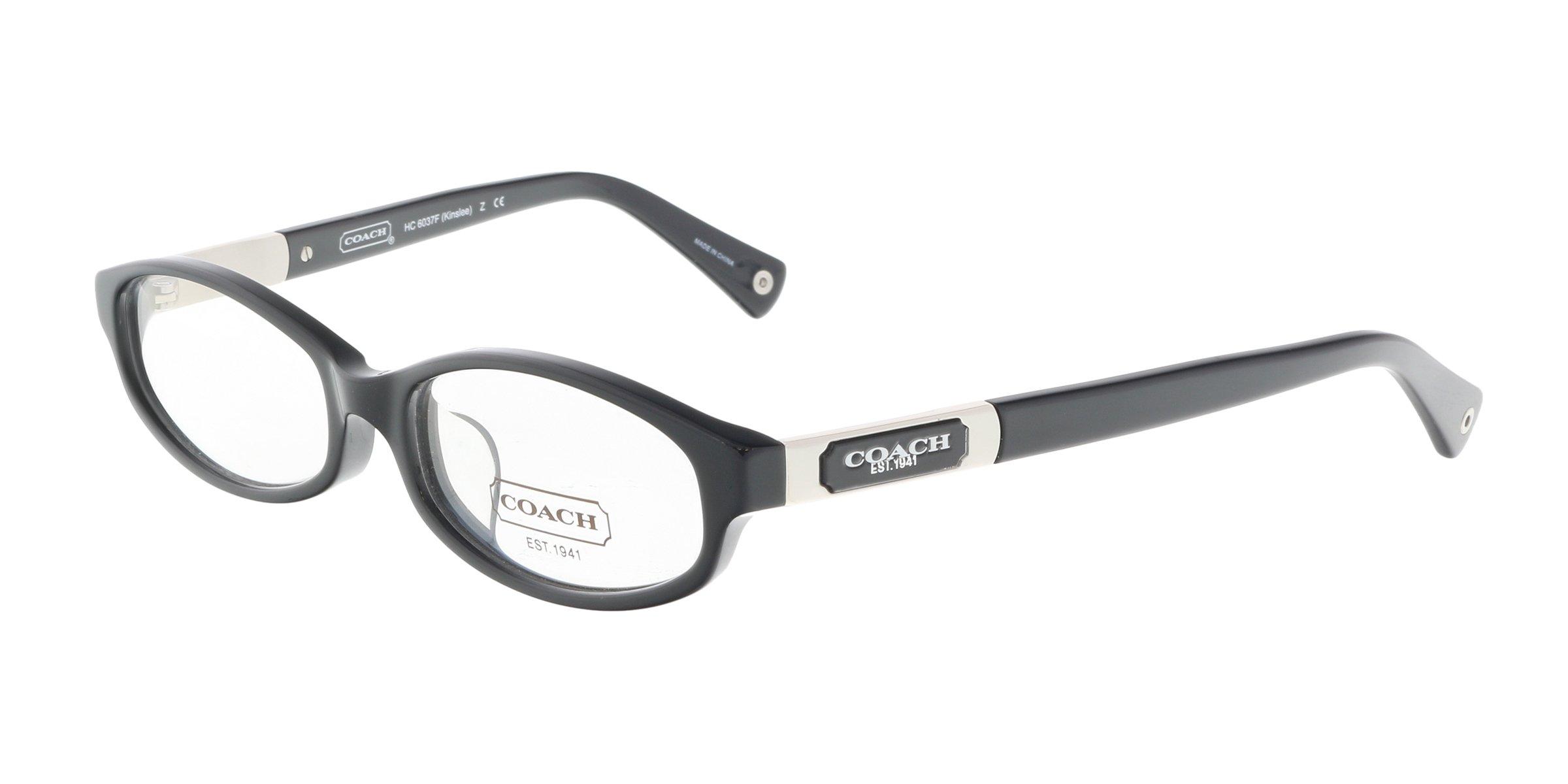 Coach Eyeglasses HC 6037F BLACK 5002 HC6037F