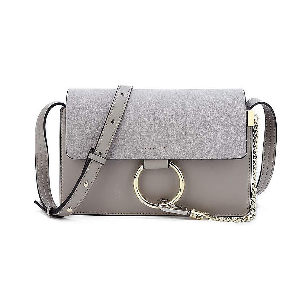 Olyphy Fashion Chain Shoulder Purse Bag for Women, Designer Mini Leather Crossbody bag (LightGray)
