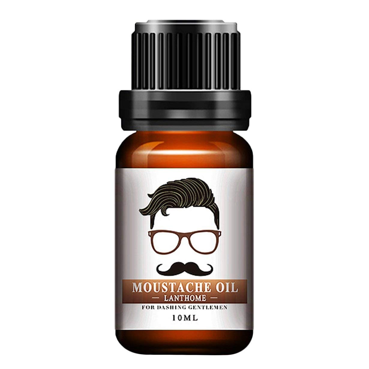 Men Natural Organic Styling Moustache Oil Moisturizing Smoothing Dashing Signori Beard Oil Face Hair Care UniqueHeart