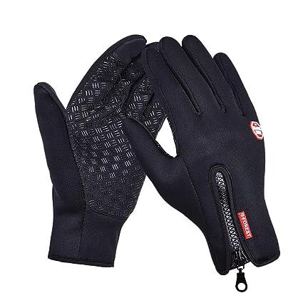 Breeezie Winter Frauen Männer Handschuhe Touchscreen