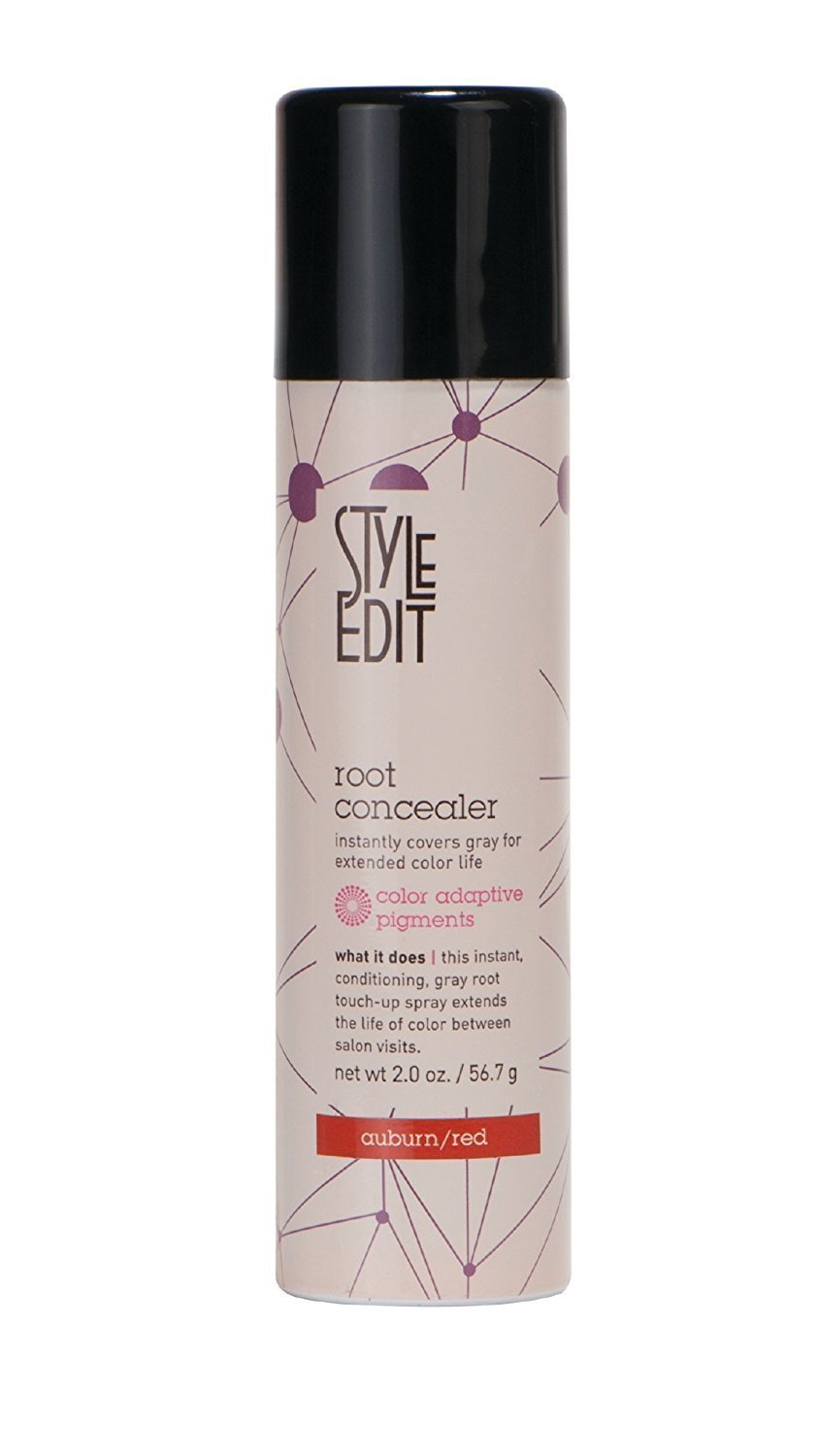 New! Style Edit Conceal Spray 2 Oz. Auburn/red (Conceal Your Gray Between Color Services stylered