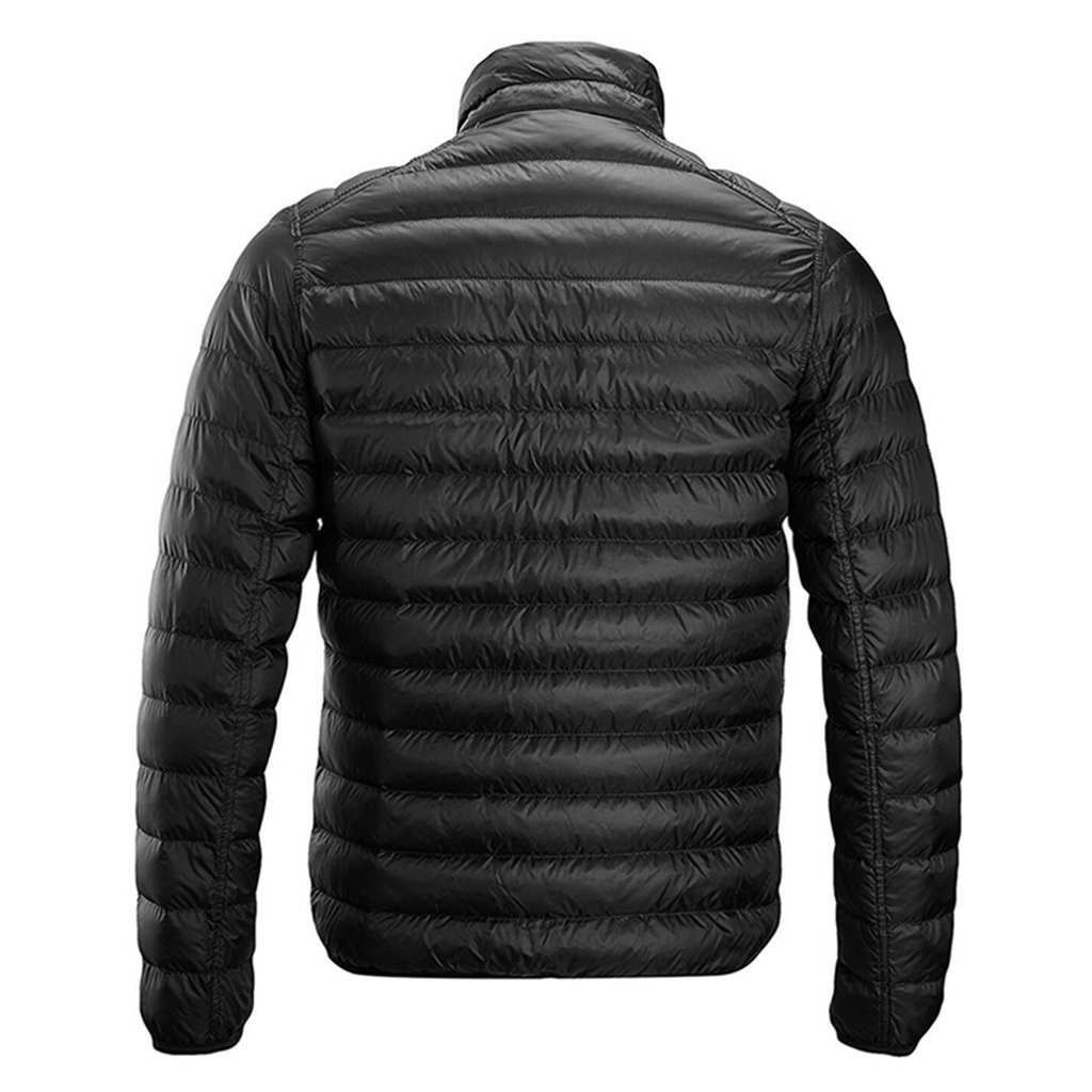Redder Men Heated Jacket Lightweight Cotton Down Jacket Outwear with New Heating System 2017 Warm-keeping Auto-heated Winter Coat with USB Charged by Power Bank-Battery not Included by redder (Image #2)