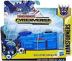 Cyberverse Soundwave One Step Transformer Action Figure 4.5