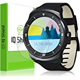 LG G Watch R Screen Protector, IQ Shield LiQuidSkin (6-Pack) Full Coverage Screen Protector for LG G Watch R HD Clear Anti-Bubble Film - with