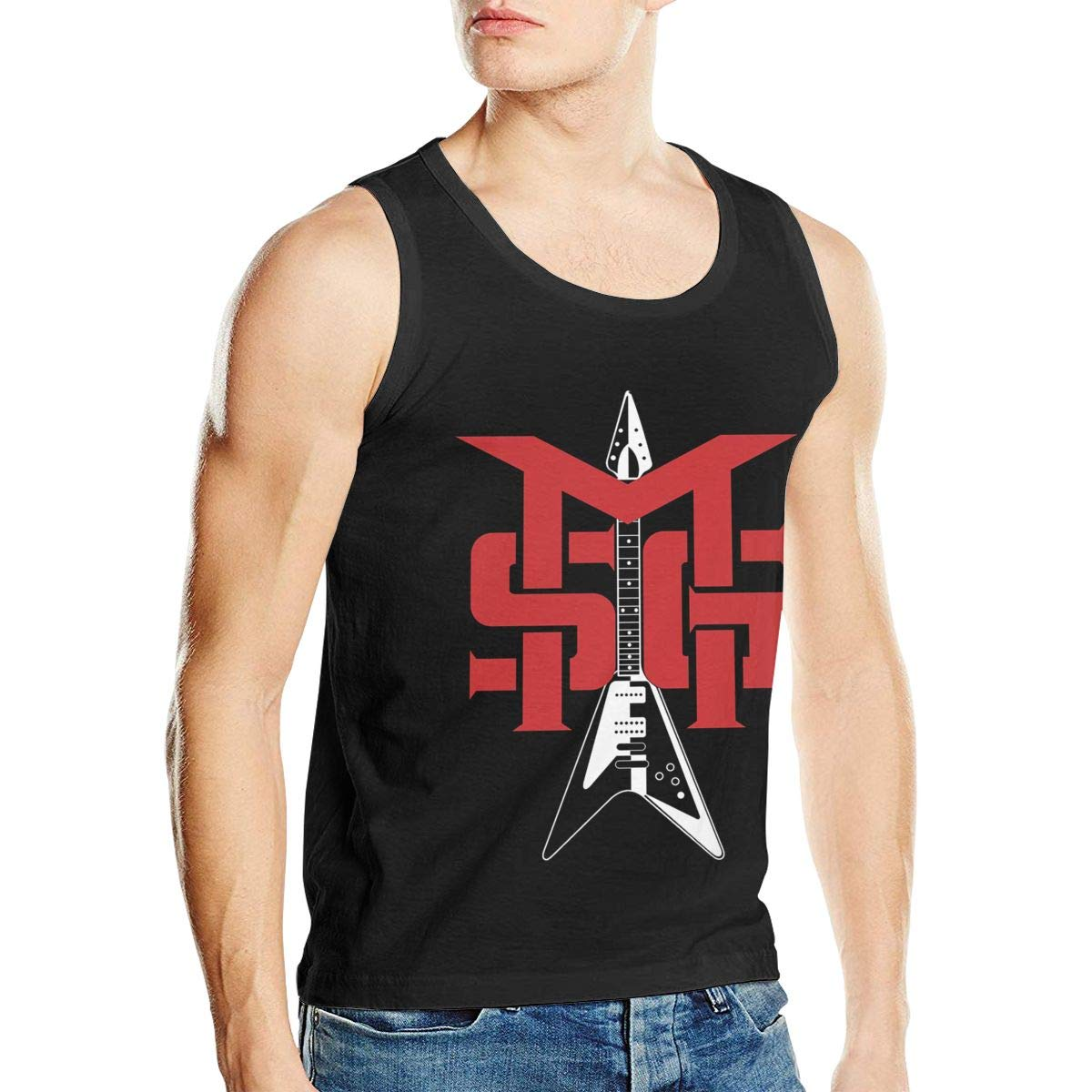 Thomlarryca Michael Schenker S Exercise Ness Shirts Premium Tank Top Black