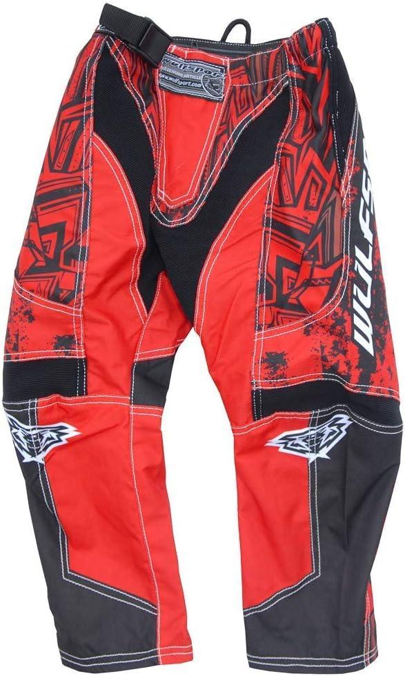 28 inches, Orange Kids Motocross Pants WULFSPORT AZTEC 2019 Motorcycle Junior Quad Dirt Bike BMX MTB ATV Enduro Childrens Cub Racing Girls Boys Mx Trouser