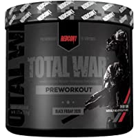 Redcon1 - Total War - Preworkout - All New (15 Servings) Boost Energy, Long Lasting Endurance, Laser Like Focus…
