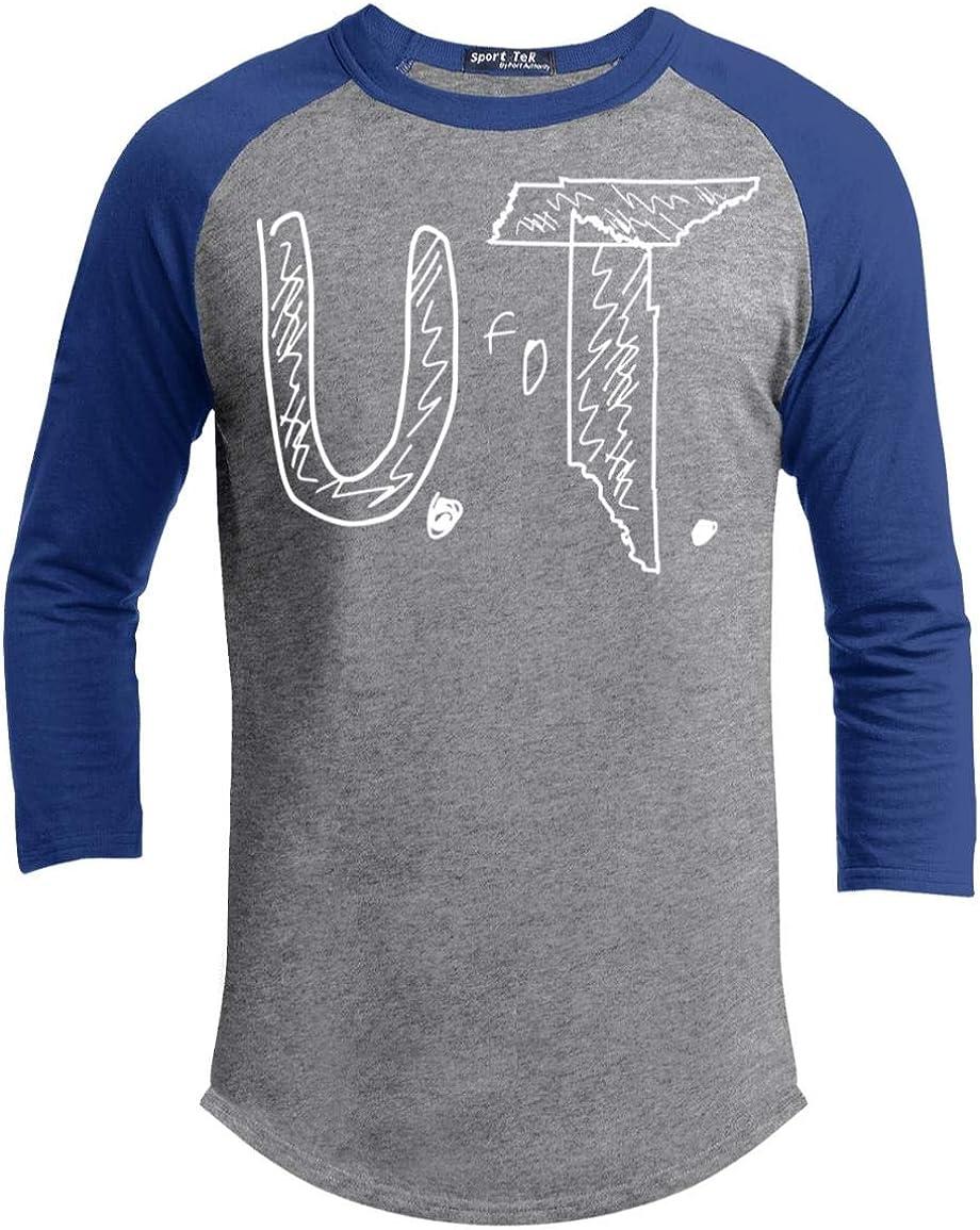 UT Tee Tennessee U.T Stop Bullying Awareness Baseball Tee Gift Bully Boys Girls 3//4 Raglan Jersey Shirt