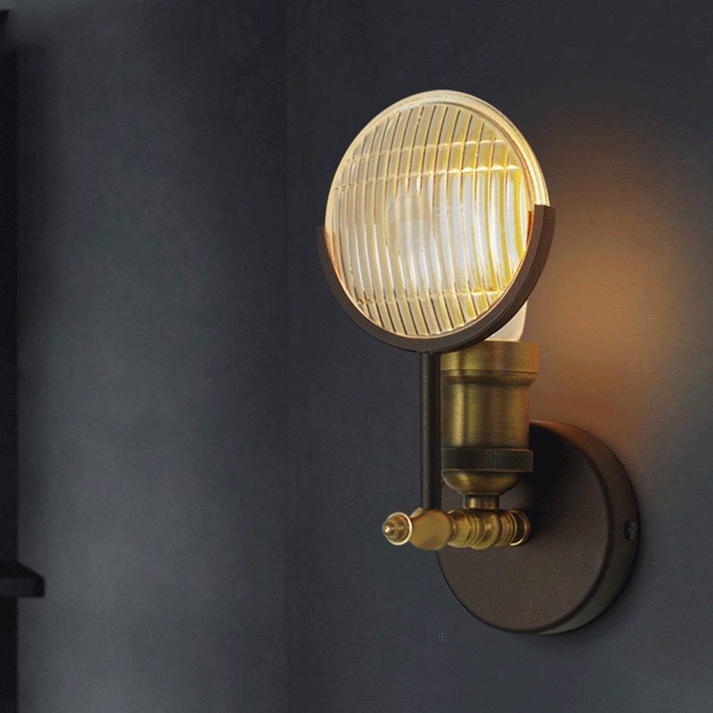 LED Glas Wandleuchte Schlafzimmer Bedside Restaurant Industrial Style Vintage Auto Wandleuchte