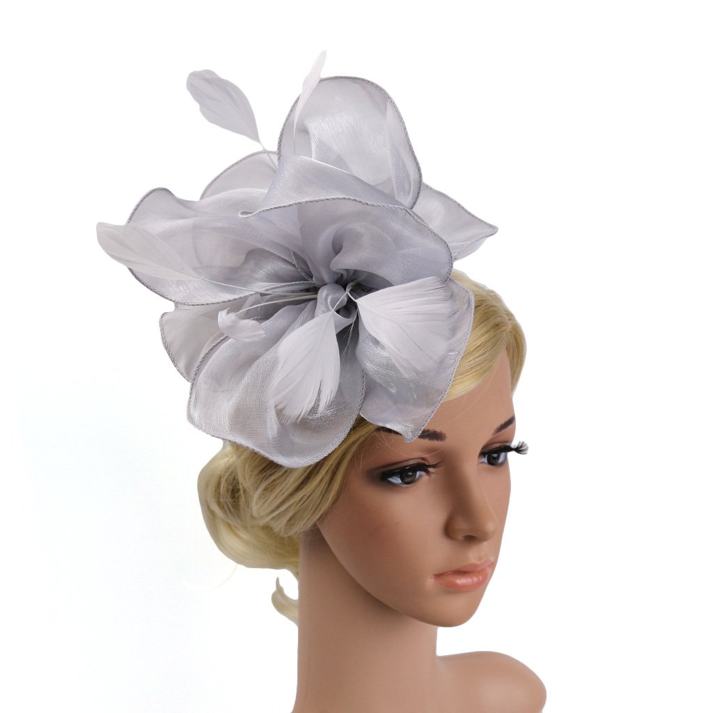 FORLADY Mode beau dames chapeau de maille chapeaux chapeaux de mariage chapeaux de mariage