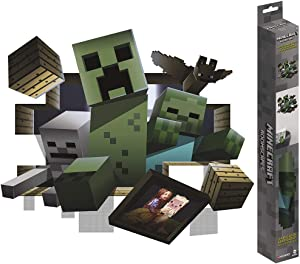 Trends International Minecraft - ROOMSCAPES Poster Decal 18x24, Multicolor