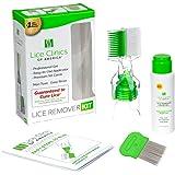 Lice Remover Kit Guaranteed to Cure Head Lice, Even Super Lice—Safe, Non-Toxic and Pesticide-Free