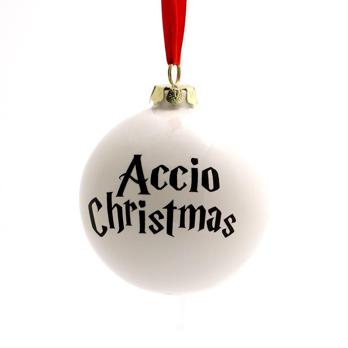 Amazon.com: Harry Potter Accio Christmas Ornament: Handmade