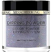 Aumiky Shiny Art Decoration Nail Art Polymer Acrylic Powder Nail Art Extension Dipping Glitter Powder Nail Art Glitters (10)