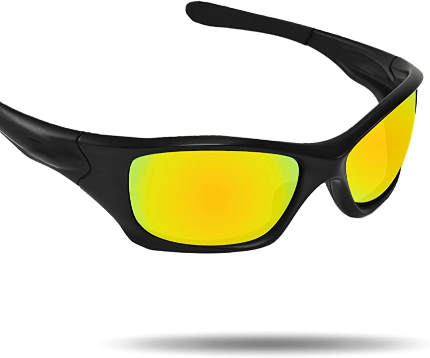 9db51f0eb88 Amazon.com  Fiskr Anti-Saltwater Replacement Lenses for Oakley Pit Bull  Sunglasses - Various  Clothing