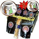 cgb_2817_1 Rich Diesslins Funny Christmas Cartoons - Supermans Christmas - Coffee Gift Baskets - Coffee Gift Basket