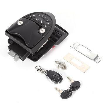 Tbvechi Rv Keyless Entry Door Lock Handle Latch 20meter Wireless
