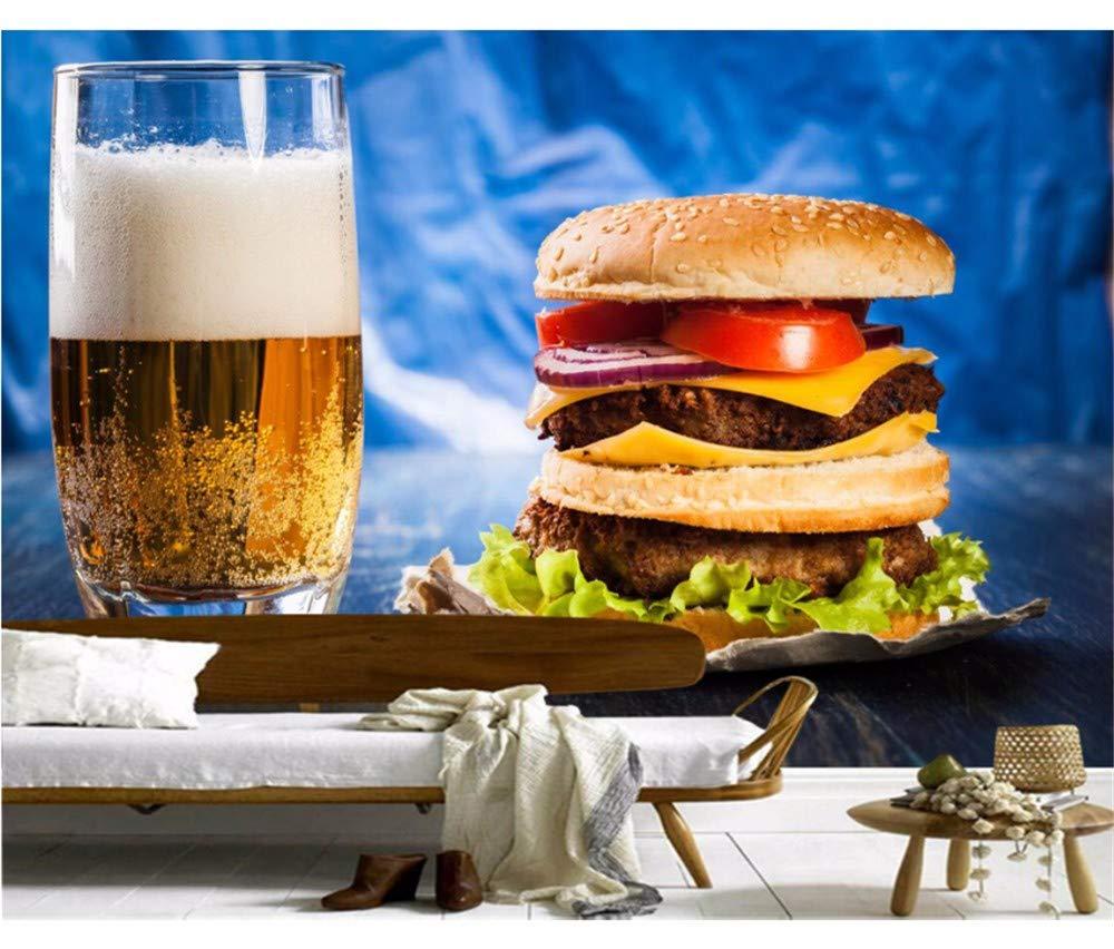 Weaeo Hamburguesa De Cerveza Highball Glass Food Photo Papel Tapiz ...
