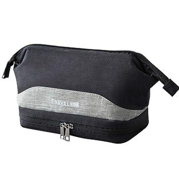 Amazon.com   Cosmetic Bag Girl Fashion Multifunction Makeup Pouch Beauty  Travel Fashion Makeup Bags (Black)   Beauty 088c172c2fdf2