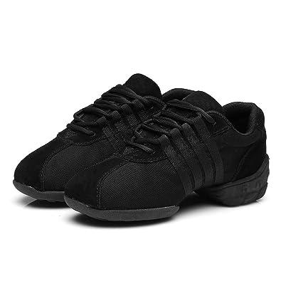SWDZM mujeres zapatos de baile moderno hip-hop zapatos de jazz deportivo  zapatillas de deporte zapatos al aire libre ES-T01  Amazon.es  Zapatos y ... a321919ccdb