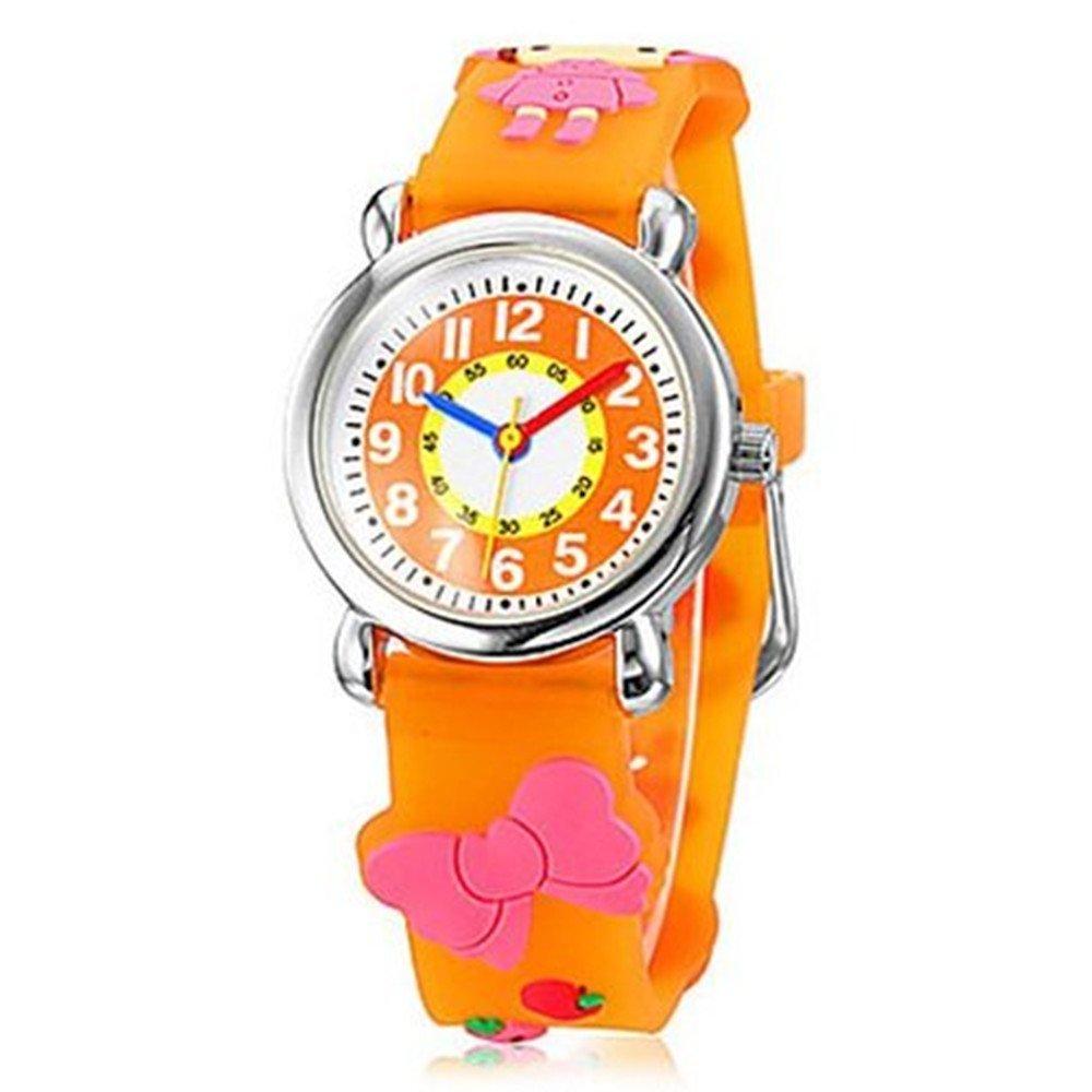 Fashion Brand Quartz Wrist Watch Baby Children Girls Boys Watch Little Red Cap Pattern Waterproof Watches