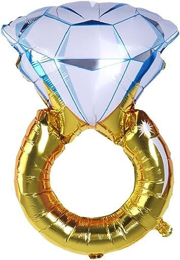 ballon bague diamant