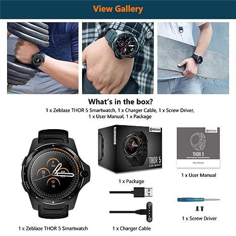ZLOPV Pulsera Nuevo 1.39 Pulgadas Dual System 4G Smart Watch ...