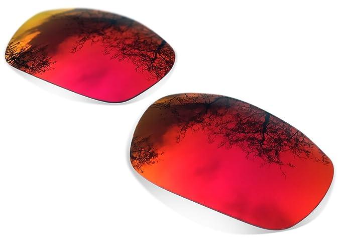 Sunglasses Restorer Lentes Polarizadas de Recambio Ruby Red para Oakley Split Jacket: Amazon.es: Ropa y accesorios
