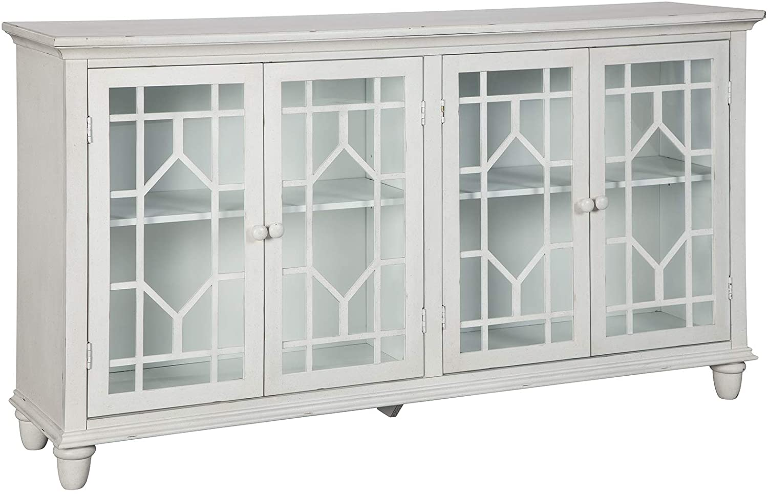 Signature Design by Ashley - Dellenbury Accent Cabinet - Vintage Casual - White