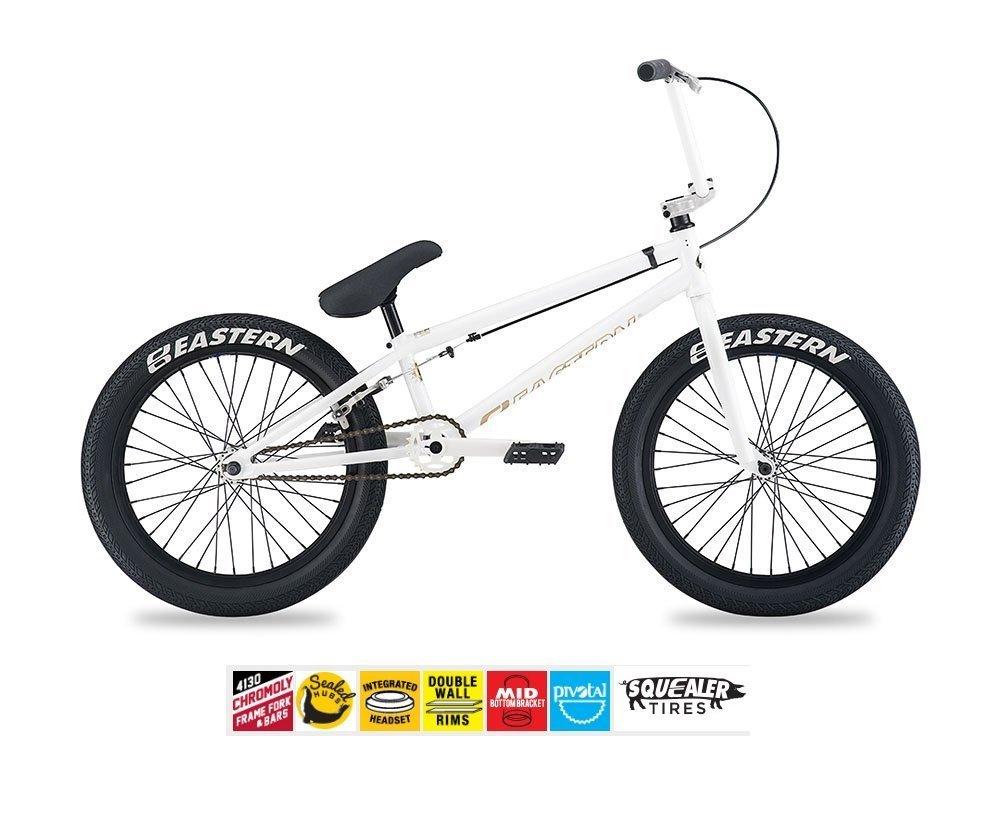 Eastern要素BMXバイク2017自転車ホワイト B0785NCRLB