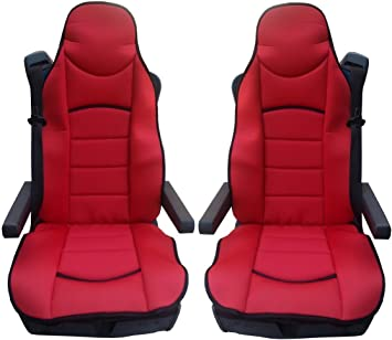 1 XtremeAuto Universal Leather Lorry//Truck // Bus Seat Cover Heavy Duty and Comfortable for Long Distance Travelling Soft Material Padded