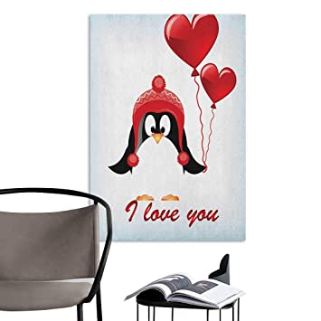 Amazoncom Jaydevn Wall Mural Wallpaper Stickers Valentines