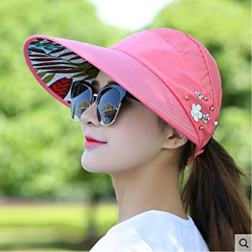 15113004f90b9 Image Unavailable. Image not available for. Color  OppoLing Fashion Sun  Hats Sun Visor ...