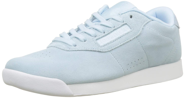 Reebok Princess Lthr, Zapatillas para Mujer 37 EU Azul (Pb-dreamy Blue/White 0)