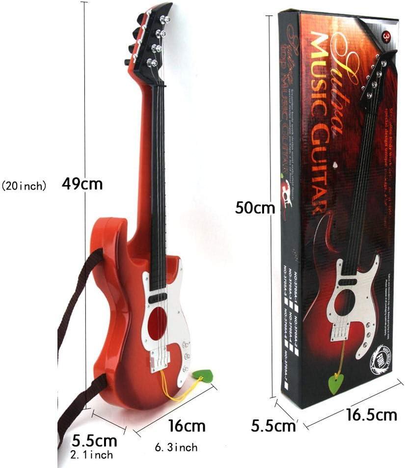 ADATEN Guitarra Infantil Correa Bajo Cuatro Cuerdas Cuerda de ...