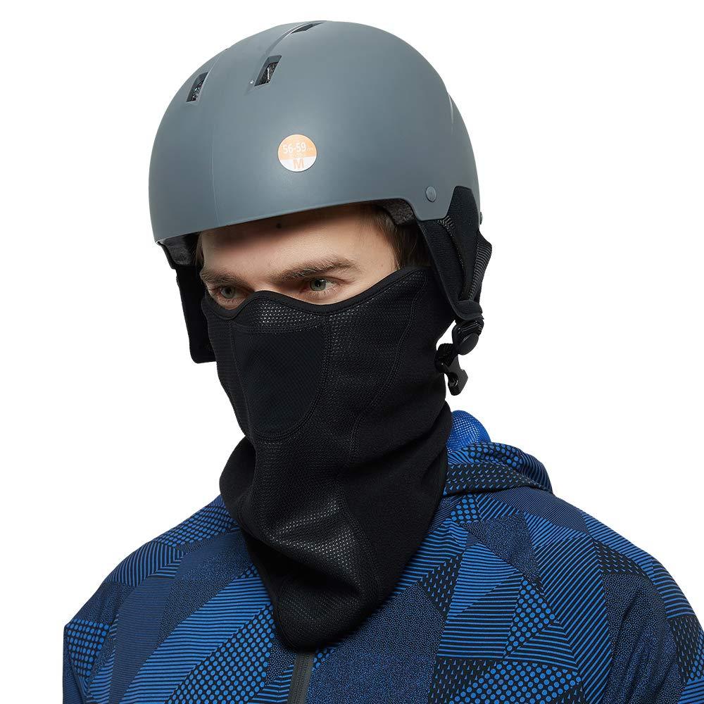 Fleece Windproof Face Mask Half Balaclava Mask for Skiing Snowboarding,Motorcycling Outdoor Sports Neck Gaiter