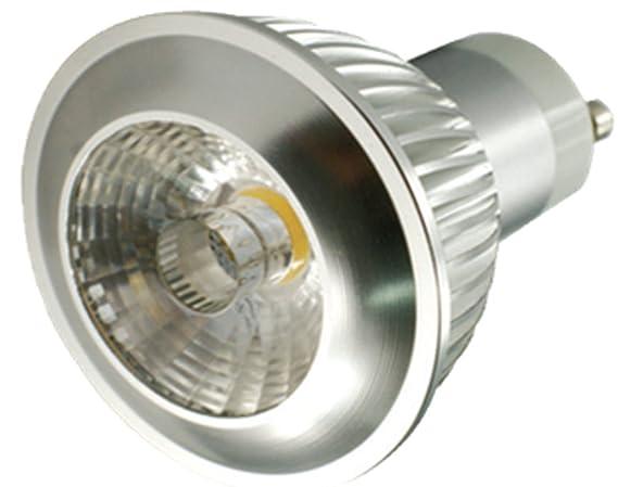 Carbon8 Lighting - Bombilla led (GU10, 5 W, 230 V, 4500 K